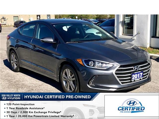 2017 Hyundai Elantra GL (Stk: 8363H) in Markham - Image 1 of 20