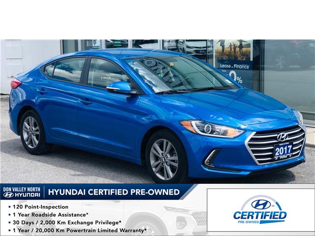 2017 Hyundai Elantra GL (Stk: 8492H) in Markham - Image 1 of 17