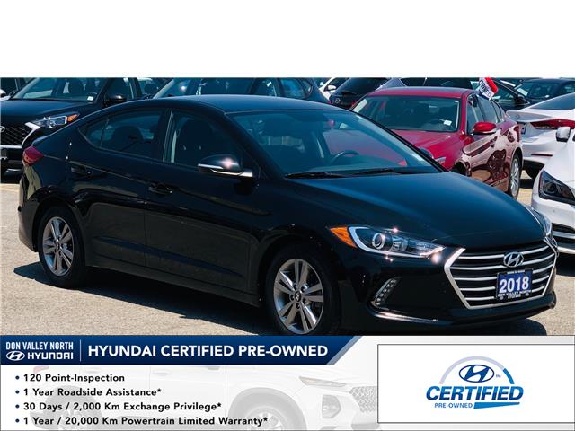 2018 Hyundai Elantra GL (Stk: 8512H) in Markham - Image 1 of 16