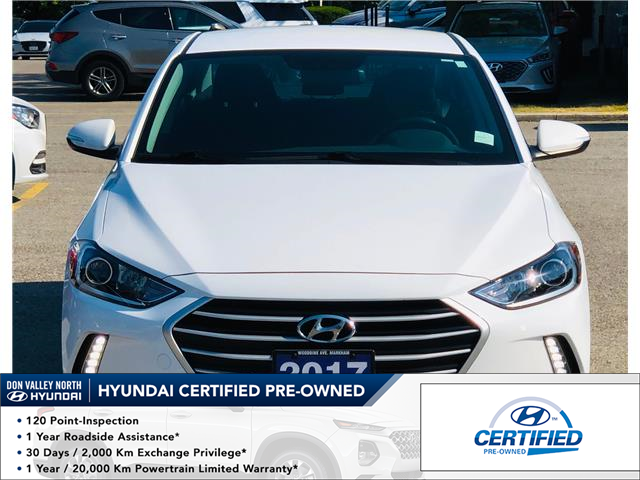 2017 Hyundai Elantra GL (Stk: 8496H) in Markham - Image 1 of 15