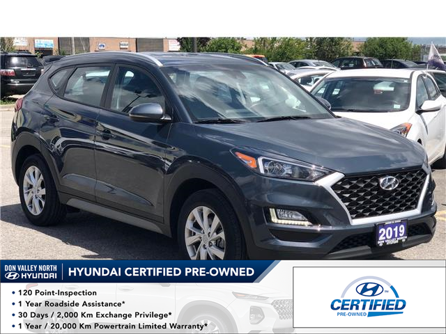 2019 Hyundai Tucson Preferred Lane Departure Warning System Blind Spot Detection Heated Steering Wheel Heated Seats At 24799 For Sale In Markham Don Valley North Toyota