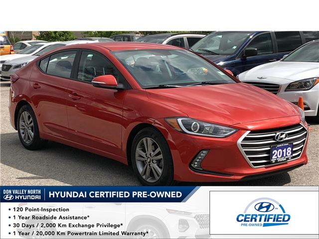 2018 Hyundai Elantra GL (Stk: 8760H) in Markham - Image 1 of 16