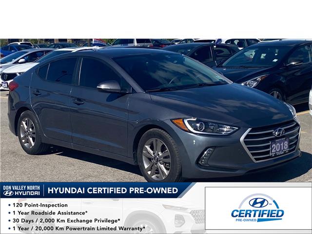 2018 Hyundai Elantra GL (Stk: 8571H) in Markham - Image 1 of 18