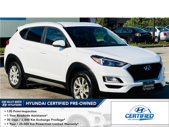 2020 Hyundai Tucson Preferred Lane Departure Warning System Blind Spot Detection Heated Steering Wheel Heated Seats At 27999 For Sale In Markham Don Valley North Toyota