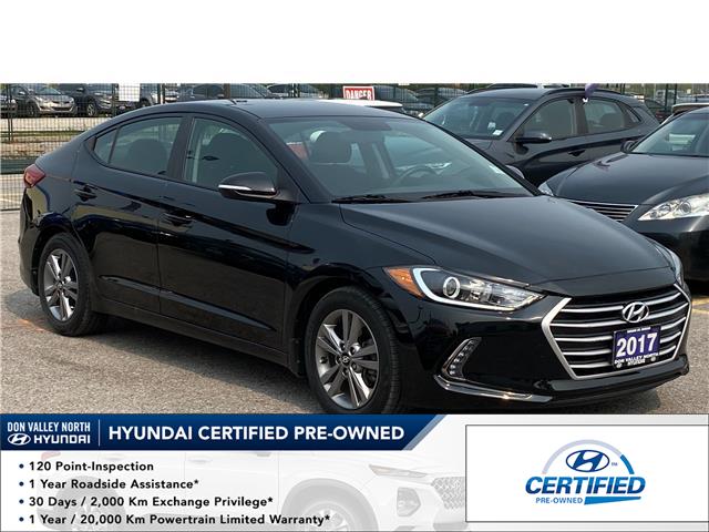 2017 Hyundai Elantra GL (Stk: 8647H) in Markham - Image 1 of 15