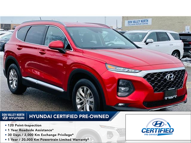2020 Hyundai Santa Fe Essential 2.4  w/Safety Package (Stk: 8861H) in Markham - Image 1 of 19