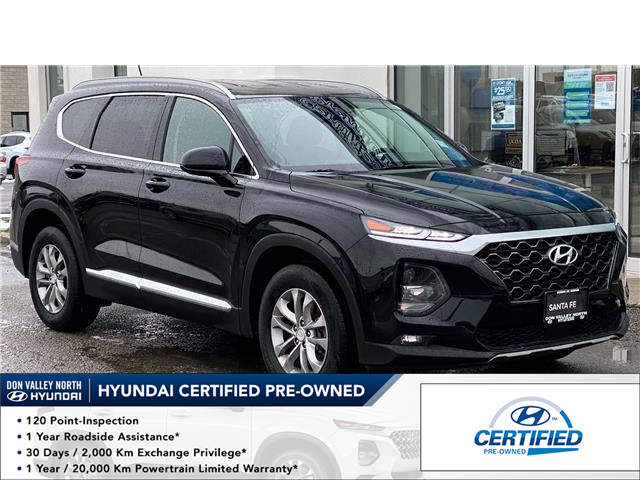 2020 Hyundai Santa Fe Essential 2.4  w/Safety Package (Stk: 8734H) in Markham - Image 1 of 17