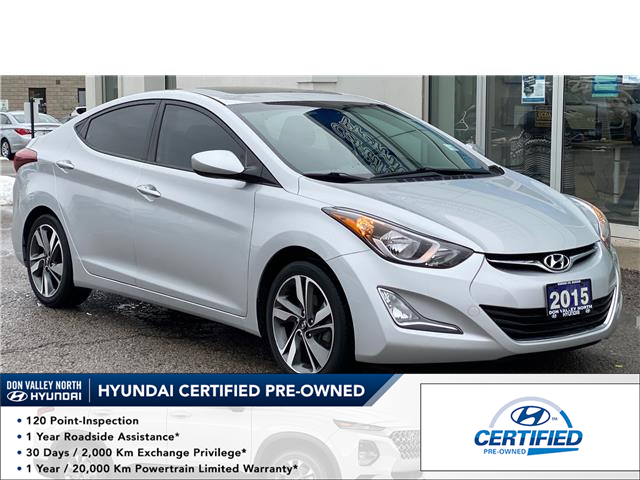 2015 Hyundai Elantra GLS (Stk: 8876H) in Markham - Image 1 of 16