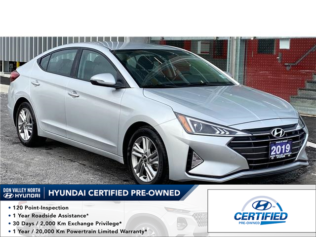 2019 Hyundai Elantra Preferred (Stk: 8889H) in Markham - Image 1 of 16