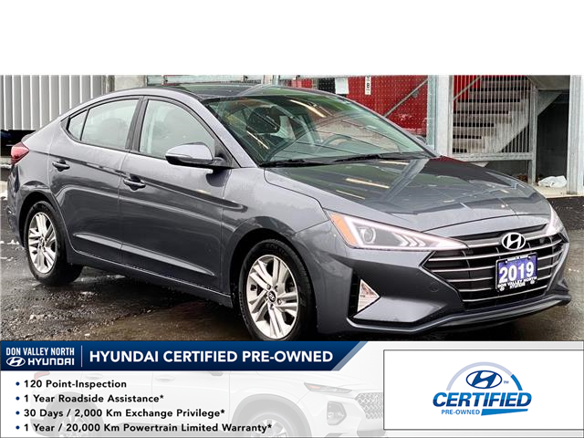 2019 Hyundai Elantra Preferred (Stk: 8917H) in Markham - Image 1 of 17