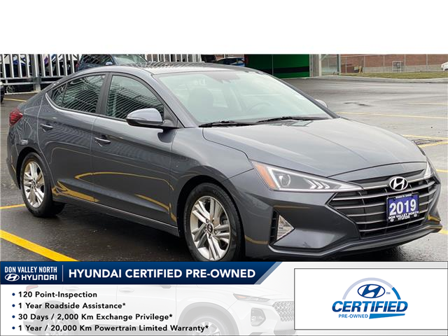 2019 Hyundai Elantra Preferred (Stk: 8941H) in Markham - Image 1 of 19