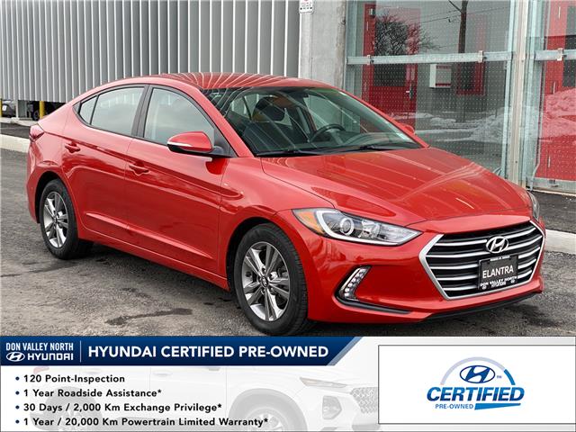 2018 Hyundai Elantra GL (Stk: 8985H) in Markham - Image 1 of 16