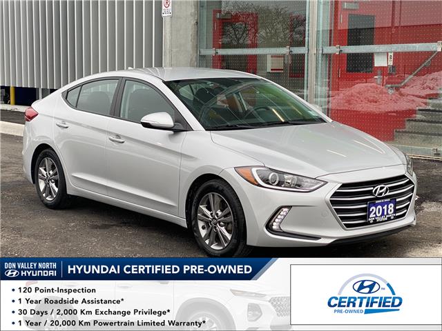 2018 Hyundai Elantra GL (Stk: 8987H) in Markham - Image 1 of 17