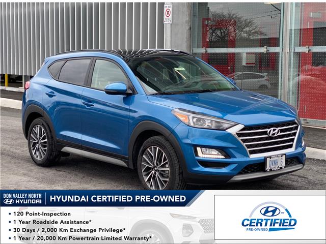 2021 Hyundai Tucson Luxury (Stk: 104799) in Markham - Image 1 of 19
