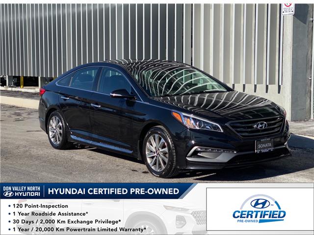 2016 Hyundai Sonata Sport Tech (Stk: 9052H) in Markham - Image 1 of 19