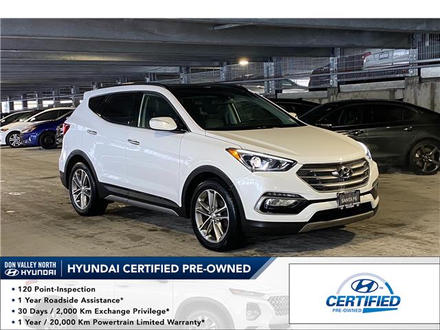 2017 Hyundai Santa Fe Sport 2.0T Limited (Stk: 9077H) in Markham - Image 1 of 18