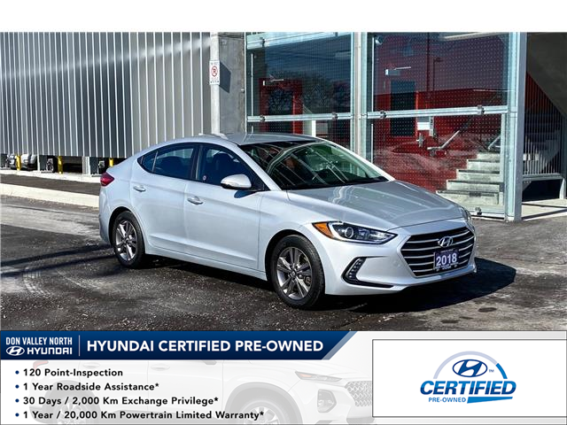 2018 Hyundai Elantra GL (Stk: 9096H) in Markham - Image 1 of 16