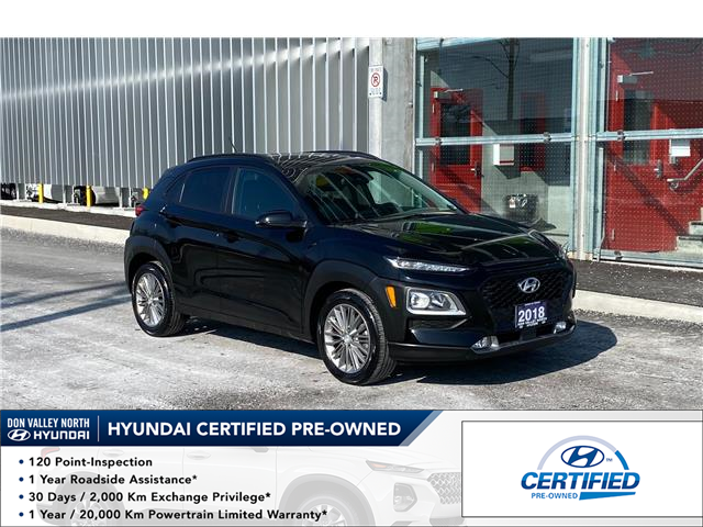 2018 Hyundai Kona 2.0L Luxury (Stk: 9107H) in Markham - Image 1 of 16
