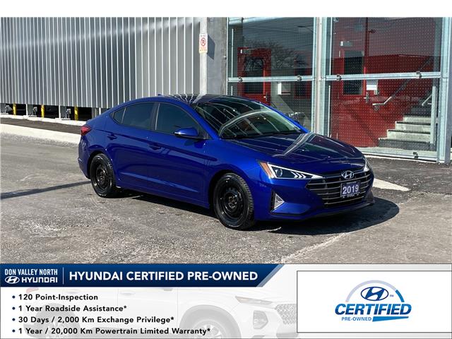2019 Hyundai Elantra Preferred (Stk: 9083H) in Markham - Image 1 of 18