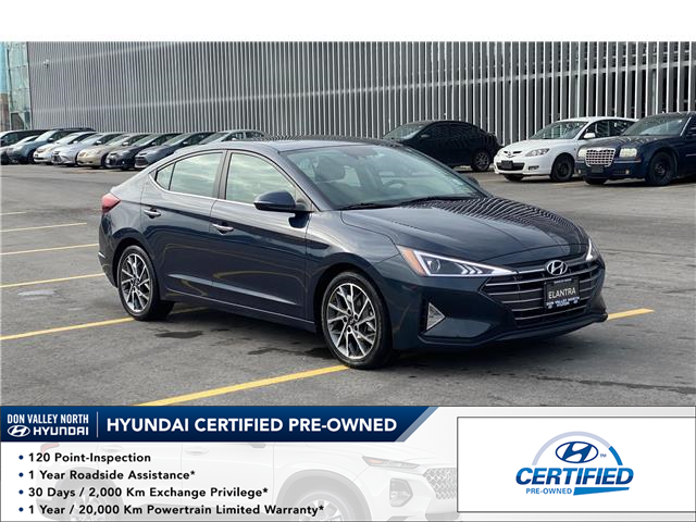 2020 Hyundai Elantra Luxury (Stk: 9138H) in Markham - Image 1 of 18