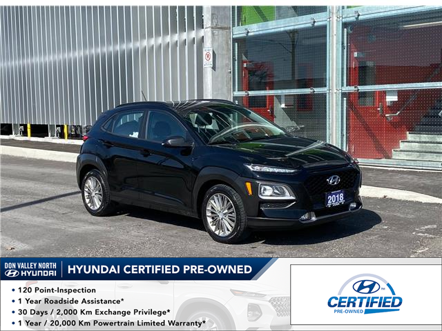 2018 Hyundai Kona 2.0L Preferred (Stk: 9126H) in Markham - Image 1 of 17