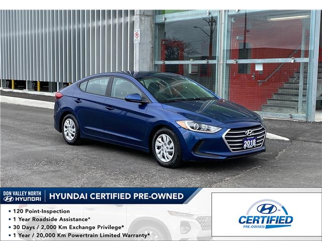 2018 Hyundai Elantra LE (Stk: 9146H) in Markham - Image 1 of 13