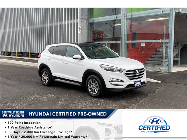 2018 Hyundai Tucson Luxury 2.0L (Stk: 9182H) in Markham - Image 1 of 15