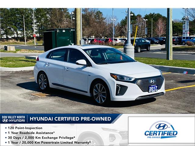 2017 Hyundai Ioniq Hybrid Limited w/Tech (Stk: 9199H) in Markham - Image 1 of 21