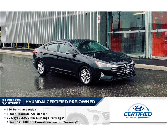2019 Hyundai Elantra Preferred (Stk: 9222H) in Markham - Image 1 of 13