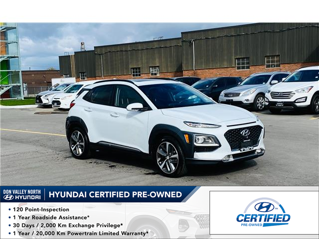 2020 Hyundai Kona 1.6T Ultimate (Stk: 9239H) in Markham - Image 1 of 14