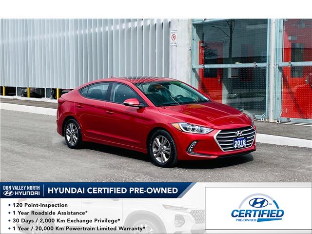 2018 Hyundai Elantra GL SE (Stk: 9254H) in Markham - Image 1 of 15