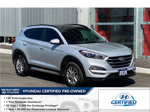 2018 Hyundai Tucson Luxury 2.0L (Stk: 9308H) in Markham - Image 1 of 17