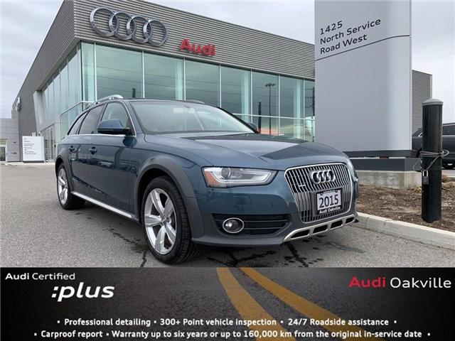 2015 Audi A4 allroad 2.0T Technik (Stk: B8520) in Oakville - Image 1 of 18