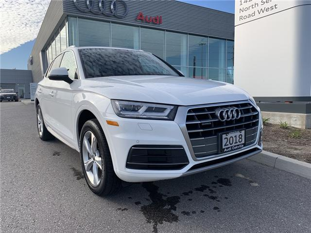 2018 Audi Q5 2.0T Progressiv (Stk: L8605) in Oakville - Image 1 of 21