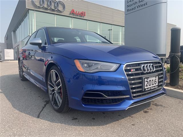 2016 Audi S3 2.0T Progressiv (Stk: B8617) in Oakville - Image 1 of 19