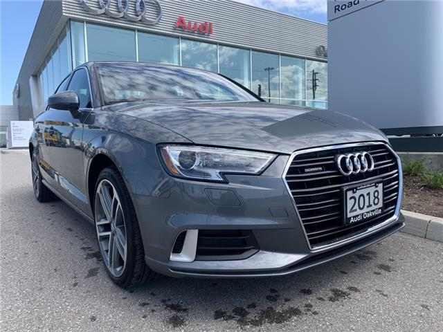 2018 Audi A3 2.0T Progressiv (Stk: 49804) in Oakville - Image 1 of 21