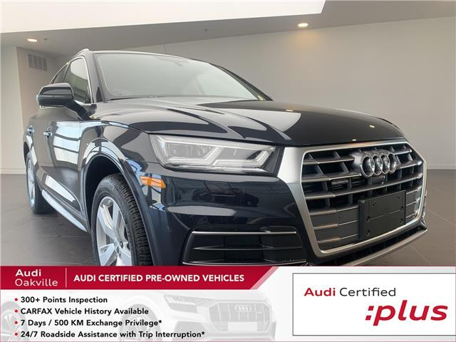 2019 Audi Q5 45 Technik (Stk: 50131B) in Oakville - Image 1 of 22
