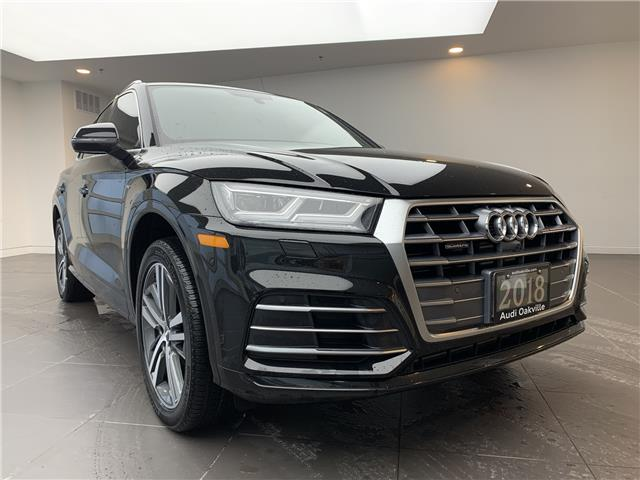 2018 Audi Q5 2.0T Technik (Stk: B9186) in Oakville - Image 1 of 22