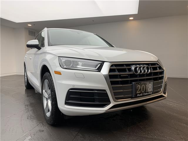 2018 Audi Q5 2.0T Progressiv (Stk: B9185) in Oakville - Image 1 of 21