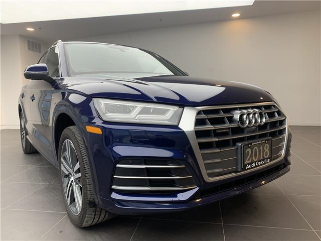 2018 Audi Q5 2.0T Technik (Stk: L9205) in Oakville - Image 1 of 23