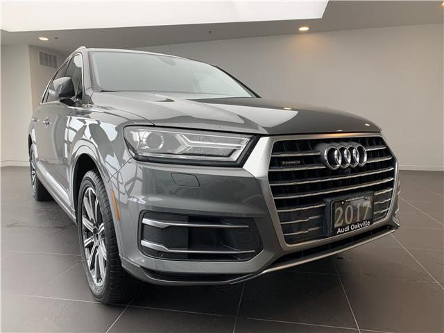 2017 Audi Q7 3.0T Progressiv (Stk: L9285) in Oakville - Image 1 of 23