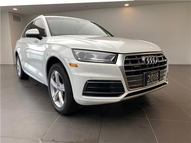 2018 Audi Q5 2.0T Progressiv (Stk: L9565) in Oakville - Image 1 of 22