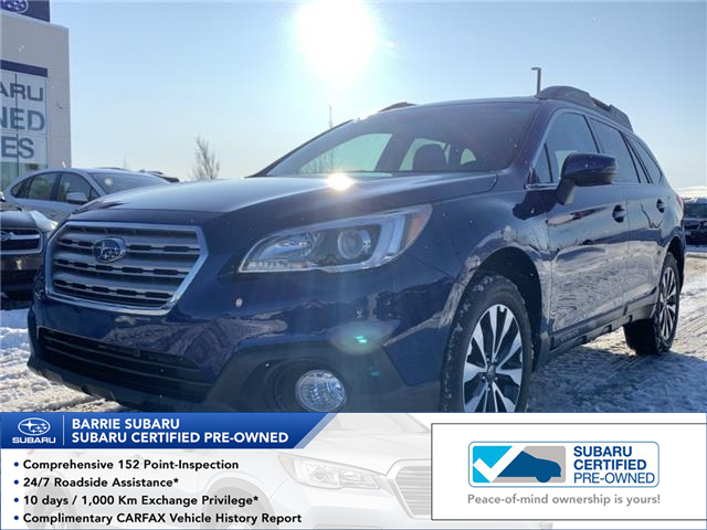 2017 Subaru Outback 2.5i Limited (Stk: 20SB148A) in Innisfil - Image 1 of 12