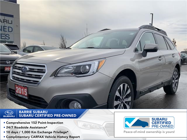 2015 Subaru Outback 2.5i Limited Package (Stk: 20SB104A) in Innisfil - Image 1 of 12