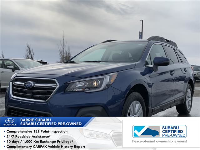 2019 Subaru Outback 2.5i Touring (Stk: SUB1595R) in Innisfil - Image 1 of 16