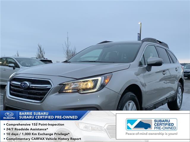 2019 Subaru Outback 2.5i Touring (Stk: SUB1592R) in Innisfil - Image 1 of 17