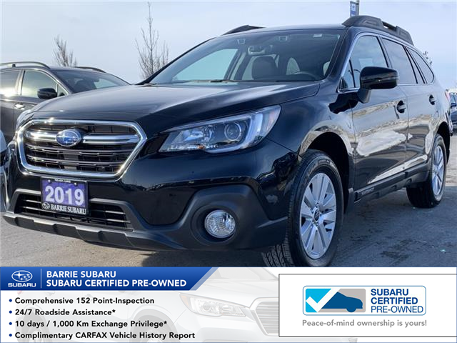 2019 Subaru Outback 2.5i Touring (Stk: SUB1620R) in Innisfil - Image 1 of 18