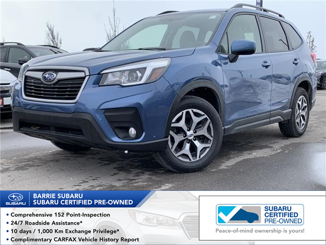 2019 Subaru Forester 2.5i Convenience (Stk: SUB1598R) in Innisfil - Image 1 of 17