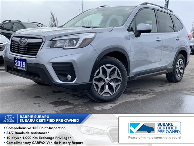 2019 Subaru Forester 2.5i Convenience (Stk: SUB1600R) in Innisfil - Image 1 of 17