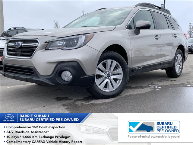 2019 Subaru Outback 2.5i Touring (Stk: SUB1609R) in Innisfil - Image 1 of 18